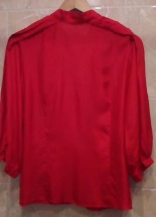 Zara woman шелковая блуза на запах 122 фото