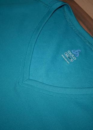 Очень классная спортивная футболка насыщенного цвета odlo6 фото
