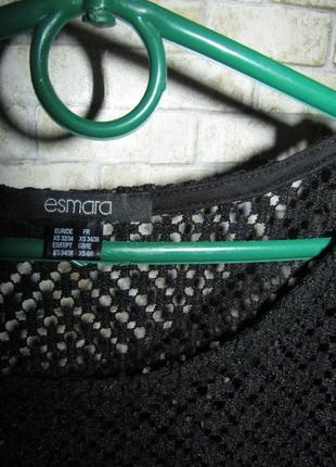 Футболка накидка р-р xs -s от esmara2 фото