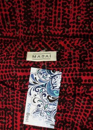 Стильная блузка батал от masai размер: 58-60, xxl-xxxl3 фото