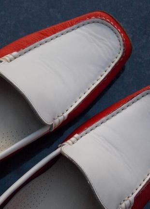 """Р.39 """"bottega"""" италия,натуральная кожа туфли/лоферы  25.5 см6 фото"""