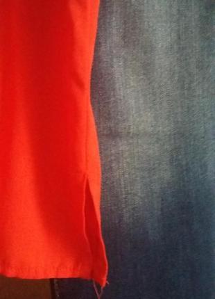 Красная базовая майка5 фото