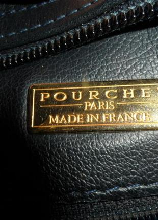 Pourchet ,кросс борди ,кожа нат,в идеале8 фото