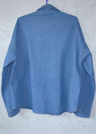 Оверсайз рубашка boohoo p 122 фото