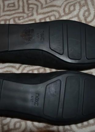 Новые туфли next 23.5 см 37 размер кожа2 фото