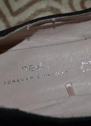 Новые туфли next 23.5 см 37 размер кожа3 фото