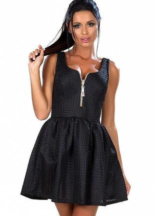 Платье неопрен,платье с перфорацией1 фото