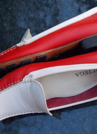 """Р.39 """"bottega"""" италия,натуральная кожа туфли/лоферы  25.5 см3 фото"""