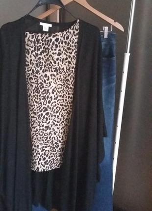 Майка леопардовый принт1 фото