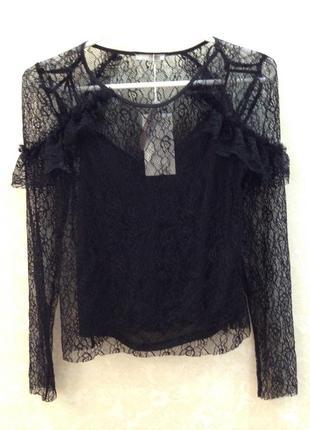 Блуза кофточка zara3 фото