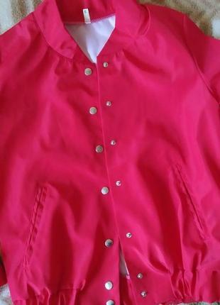 Бомбер куртка с принтом pop art7 фото