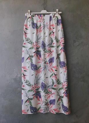 Новая белая юбка макси h&m размер м3 фото