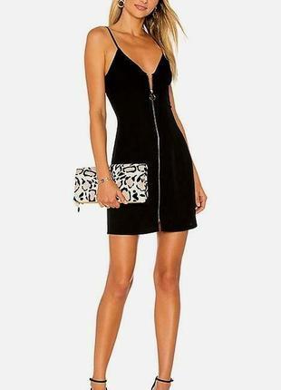 Фактурное платье на молнии с кружевом - 20% скидка!1 фото