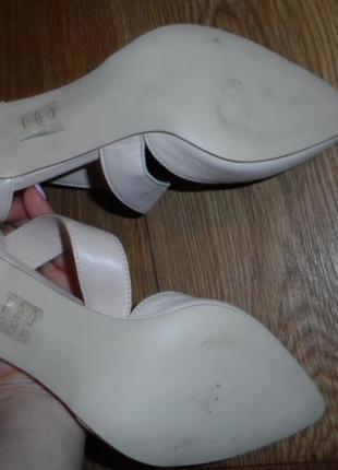 Нежные ,стильные туфельки 38р,нат. кожа ,новые3 фото