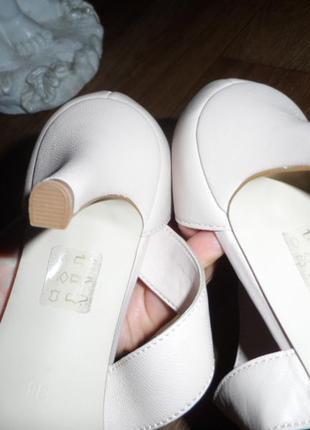 Нежные ,стильные туфельки 38р,нат. кожа ,новые7 фото