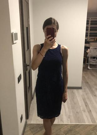 Кружевне плаття1 фото