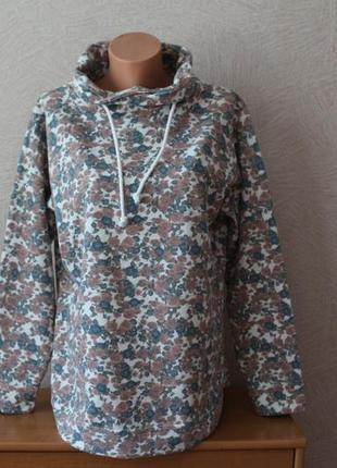 Bexleys-красивенное, цветочное худи, толстовка, кофта- сост.новой, наш 52-541 фото