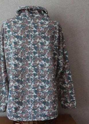 Bexleys-красивенное, цветочное худи, толстовка, кофта- сост.новой, наш 52-542 фото