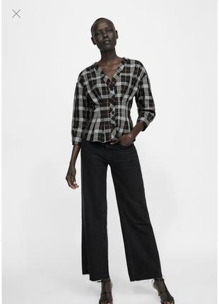 Блуза zara размер м6 фото