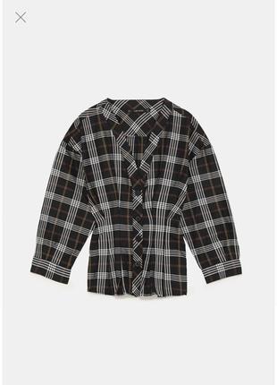 Блуза zara размер м7 фото