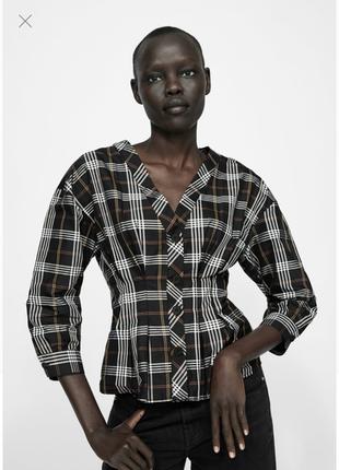 Блуза zara размер м9 фото