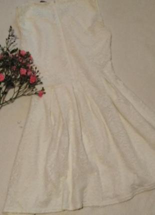 Платье гипюровое2 фото