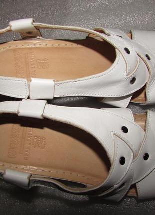Белые босоножки полностью кожа ~karyoka ~ р 378 фото