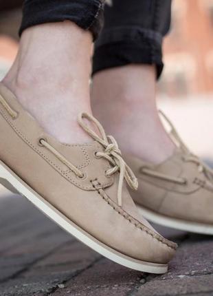 Timberland топсайдеры мокасины туфли оригинал р371 фото