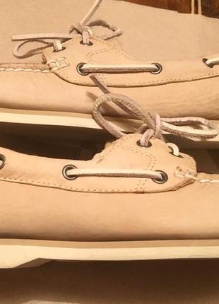 Timberland топсайдеры мокасины туфли оригинал р374 фото