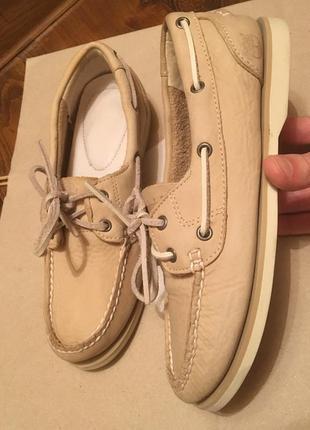 Timberland топсайдеры мокасины туфли оригинал р377 фото