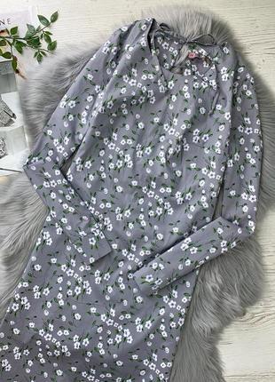 Потрясающее платье с цветочным принтом!2 фото