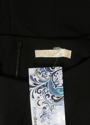 Роскошная стильная костюмная блуза от wera размер: 48-l3 фото