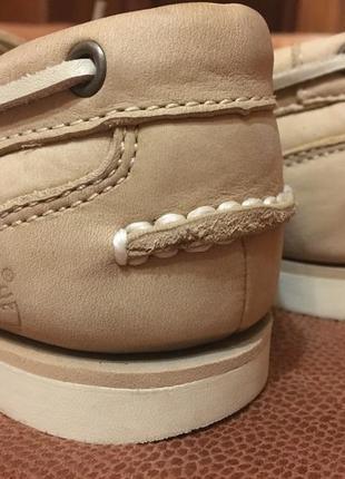 Timberland топсайдеры кожаные мокасины туфли р310 фото