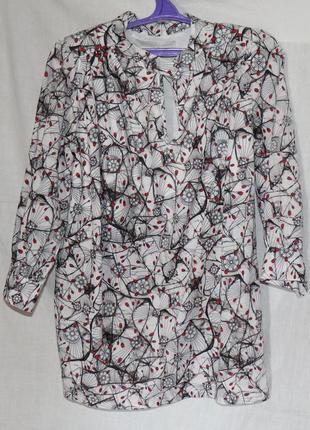 Женская блуза, хлопок2 фото