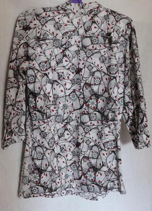 Женская блуза, хлопок3 фото