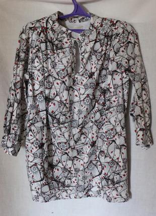 Женская блуза, хлопок1 фото