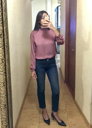 Шикарная легкая блузка1 фото