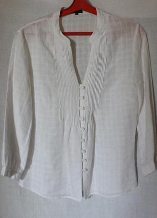 Блуза льняная1 фото