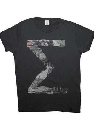 Мужская футболка серая jack & jones premium m