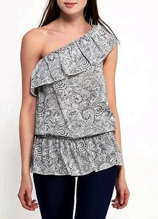 Блуза с баской с рюшами туника майка2 фото