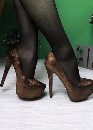 Туфли на шпильке 23см2 фото