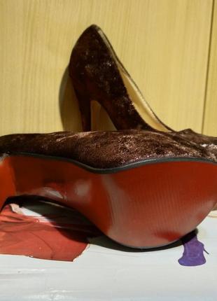 Туфли на шпильке 23см7 фото