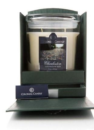 Эксклюзивный подарок the charleston collection- свеча. made in usa