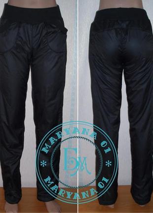 Зимние штаны на флисе 42, 44, 46, 48, 50, 52-54 размер
