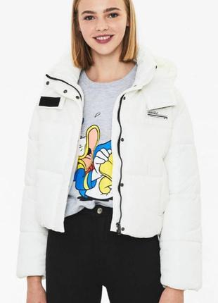 Куртка puffer bershka