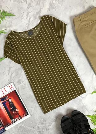 Вискозная блуза в полоску  bl1933014 ichi