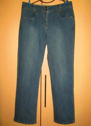 Джинсы трубы  штаны джинсовые брюки джинс 44 европейский 52 наш без дефектов