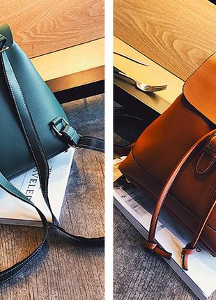 Женский городской рюкзак ✔ 4 цвета ❕8 фото