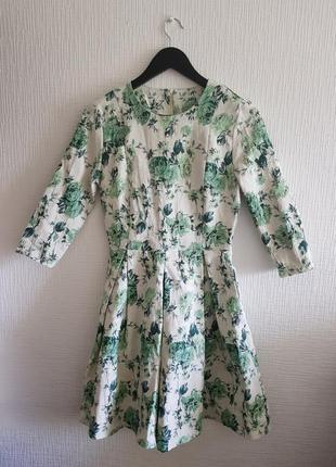 Дизайнерское платье от anna yakovenko в цветы