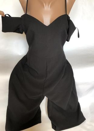 Шикарный комбинезон с широкими штанами